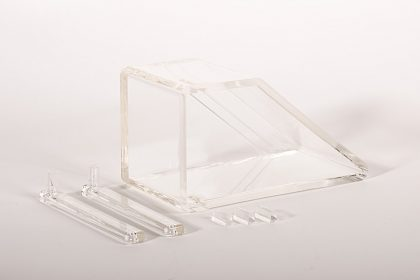 Piece plastique transparente